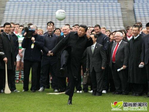 习近平盼中国夺世界杯冠军 国足回应:为了祖国